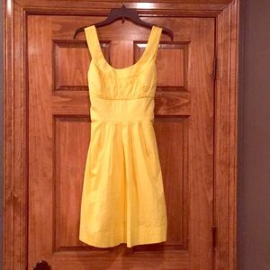 Hello Sunshine!  Yellow Cotton size 7 dress